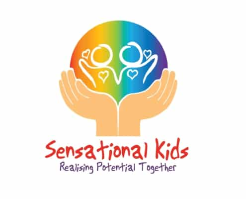 Sensational Kids logo client 2into3