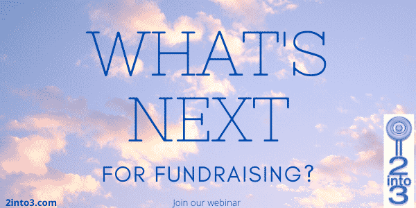 2into3 fundraising Webinar series