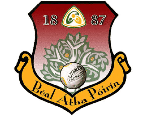 Ballyporeen GAA logo sports capital grant application 2into3