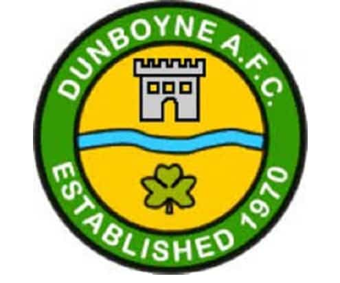 Dunboyne AFC logo sports capital grant application 2into3 ireland