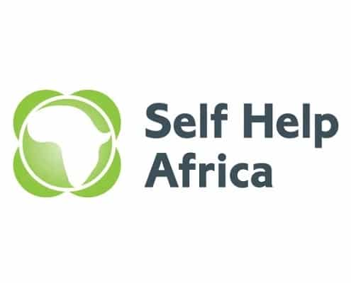 Self Help Africa logo Client 2into3