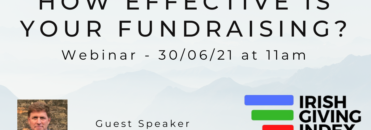 How effective is your fundraising webinar 2into3 irish giving index